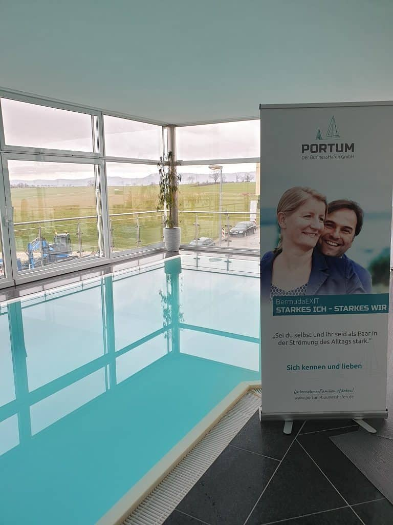 Pool bei Portum Businesshafen
