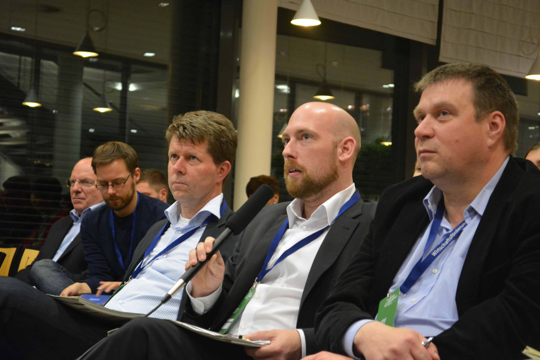Dominik Ley auf dem Startup Weekend in der Jury