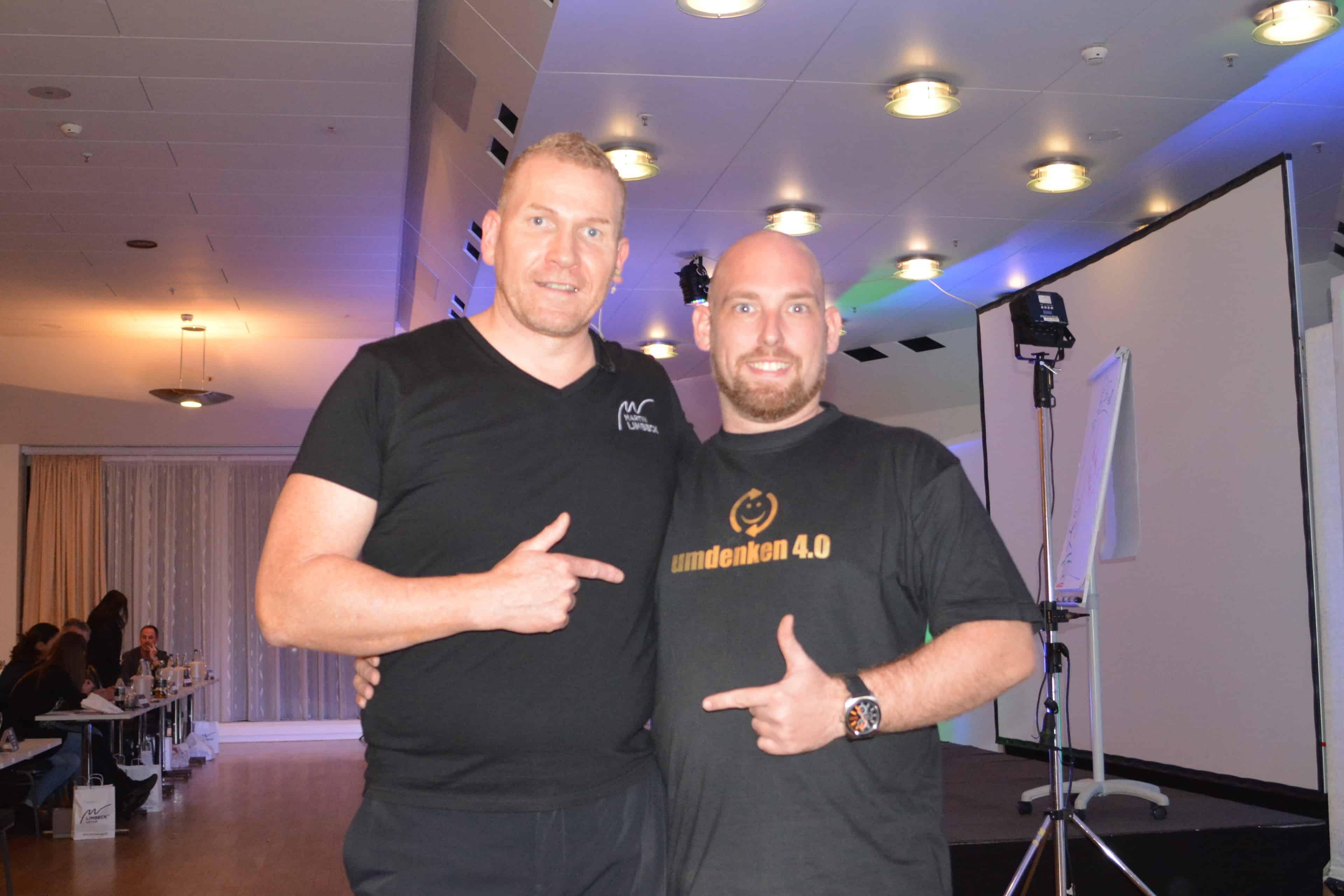 Dominik Ley und Martin Limbeck
