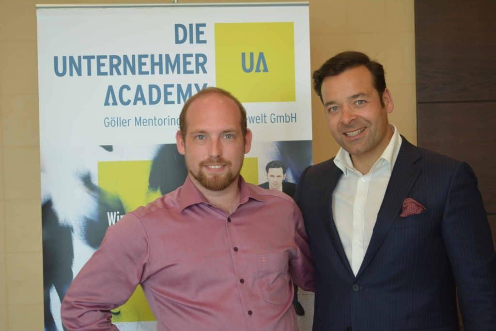 Dominik Ley und Prof. Dr. Jack Nasher