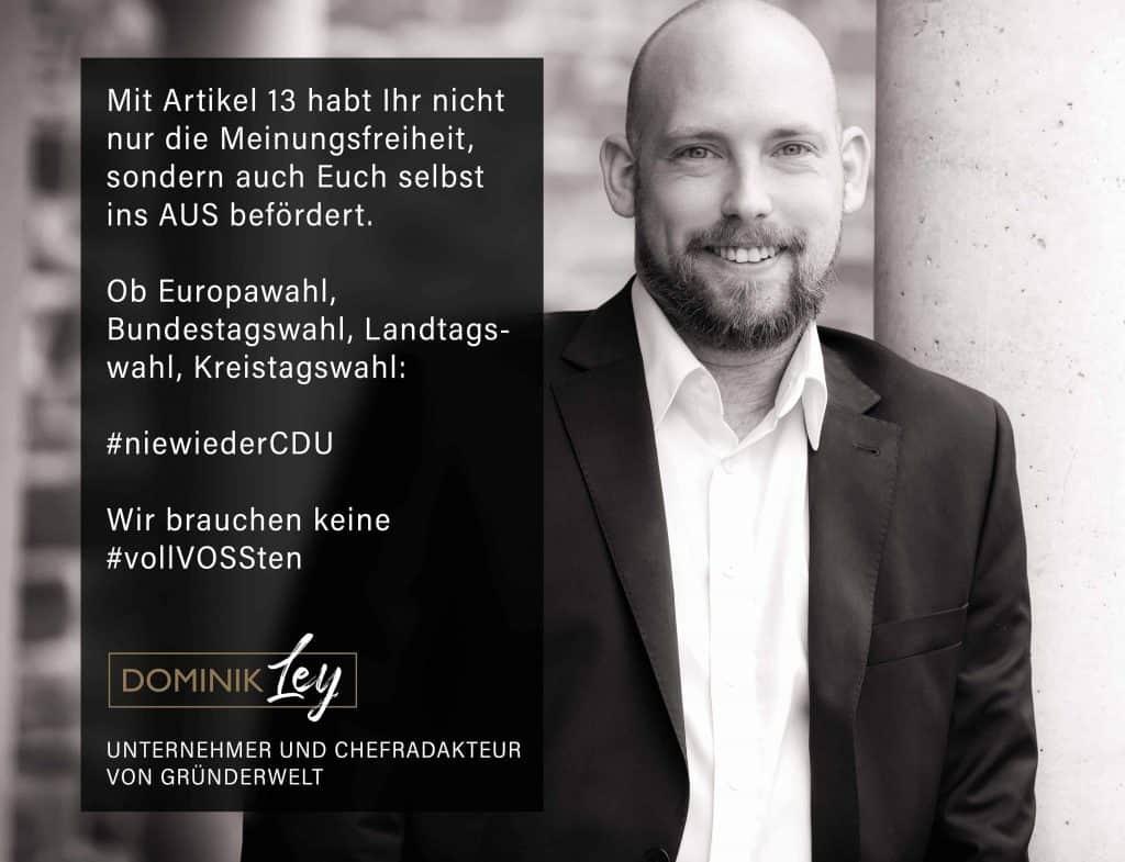 Nie wieder CDU