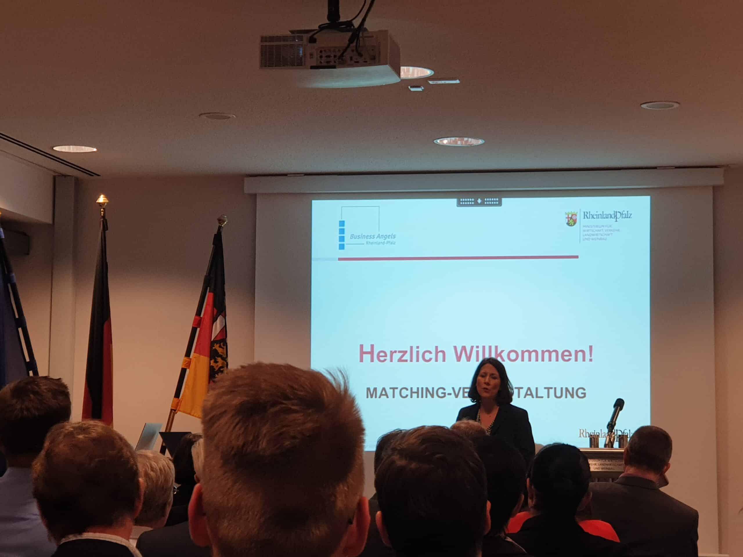 1. Business Angels Veranstaltung 2020 im Wirtschaftsministerium in Mainz