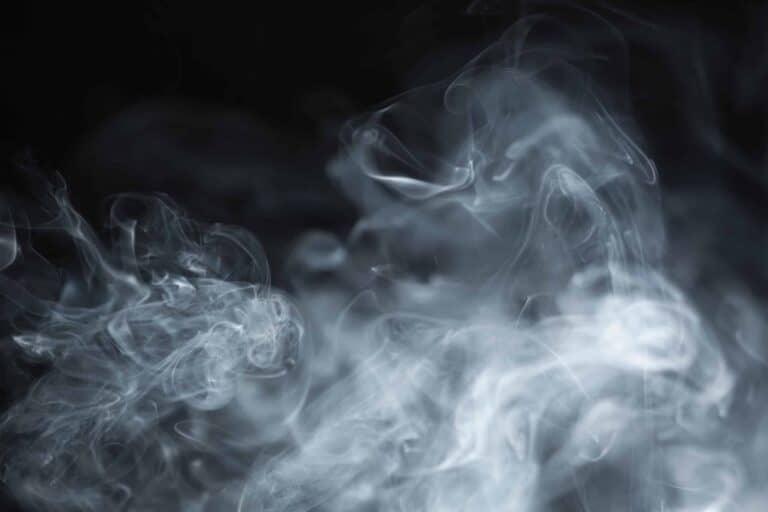Auf dem Bild ist eine Nebelwolke zu sehen.