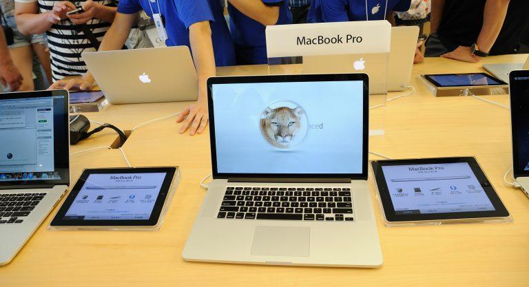 Mac Book Pro absetzen
